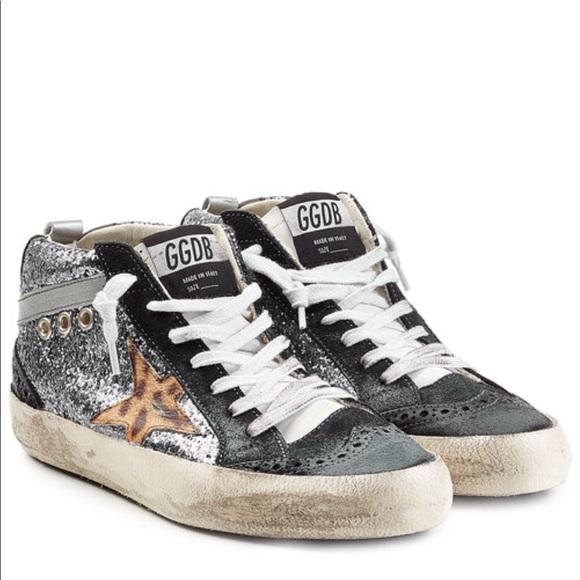 15fa2dc74d8d Golden Goose Shoes - GOLDEN GOOSE midstar glitter sneakers size 39